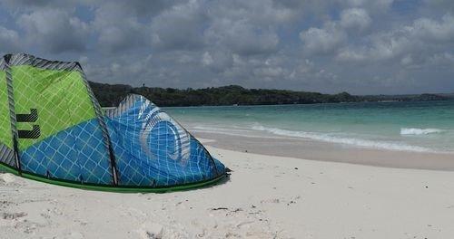 Kite surfing rote island